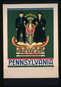 Pennsylvania Costumes And Handicrafts, The Pennsylvania Germans / Katherine Milhous. Image