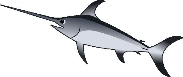 sword fish clip art at clker com vector clip art online royalty rh clker com swordfish clipart black and white swordfish clipart black and white