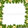 Animated Christmas Garland Clipart Image