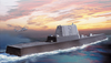 Artist S Concept Of The 210-meter (689 Feet) Dd(x) Destroyer Design By A Northrop Grumman Corporation-led Team Selected By The U.s. Navy To Complete The System Design For The Navy Image