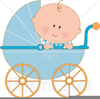 Black Baby Boy Clipart Image