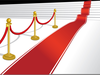 Rolling Out Red Carpet Clipart Image