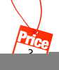 Price Tag Clipart Image