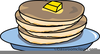Pancakes Clipart Free Image