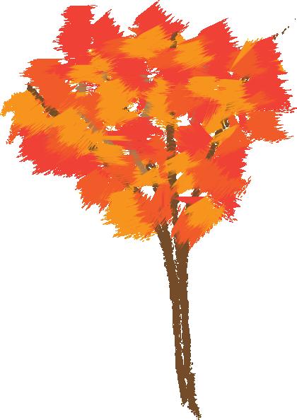 autumn tree clipart - photo #19