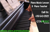 Piano Music Lesson And Piano Teacher Image