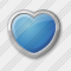 Icon Heart Blue Image