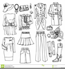 Fashionable Clipart Clothing Image