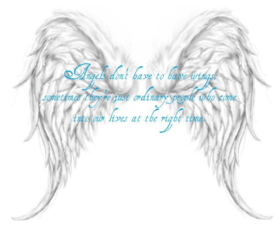 free angel wings with halo clip art - photo #32
