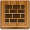 Free Wood Button Wall Image