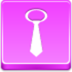 Free Pink Button Tie Image
