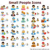 Small People Icons Image
