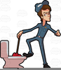Funny Plumber Clipart Image
