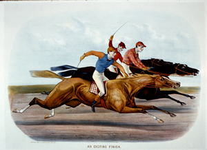 An Exciting Finish  / J. Cameron. Image