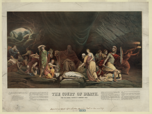 The Court Of Death. From The Original Painting, By Rembrandt Peale Image