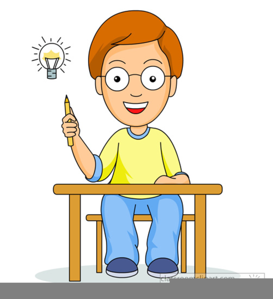 Students Thinking Clipart | Free Images at Clker.com ...