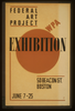 Exhibition - Wpa Federal Art Project  / Hg [monogram]. Image