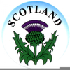 Scottish Rugby Clipart Image