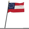 Clipart Of Confederate Flag Image