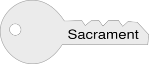 Sacrament Key Clip Art