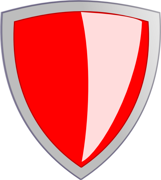 Red Security Shield Clip Art at Clker.com - vector clip art online ...