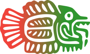 Red Green Mexican Fish Clip Art