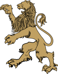 Gold Lion Clip Art