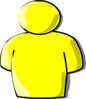 Yellow Person Clip Art
