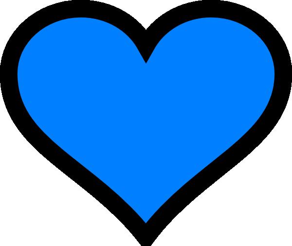 blue heart clip art at clker com vector clip art online paint clipart images paint clip art free
