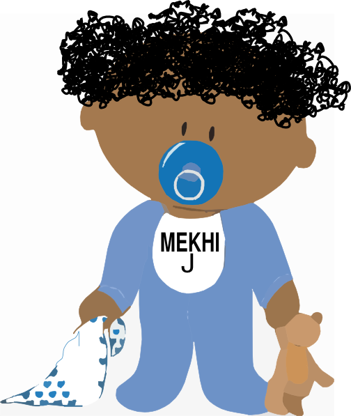 african american baby girl clipart free - photo #14