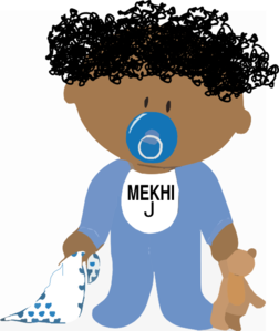 african american baby boy clip art at clker com vector clip art rh clker com african american mother and baby clipart african american baby girl clipart