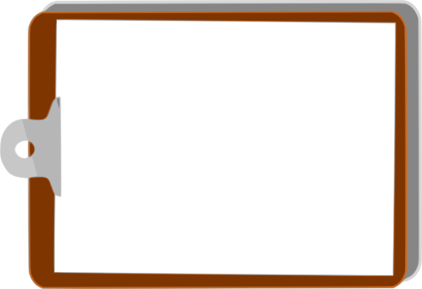 clip board left clip art at clker com vector clip art online rh clker com bulletin board design clipart bulletin board clipart free