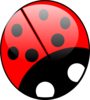 Ladybug- Bright Colors Clip Art