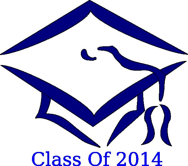 Graduation Hat 2014 Clip Art at Clker.com - vector clip ...