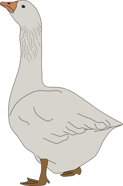 goose hunting clipart - photo #12