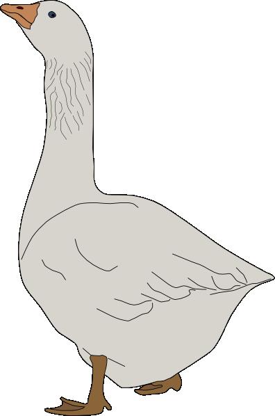 Goose Clip Art at Clker.com - vector clip art online ...