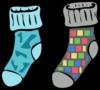 Socks7 Clip Art