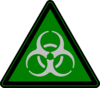 Another Green Biohazard Clip Art