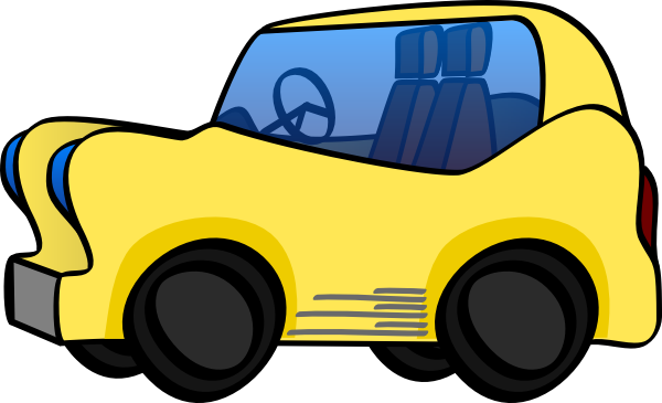 cartoon cars clipart - photo #13