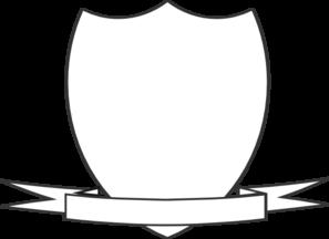 Shield ribbon. Clip art at clker