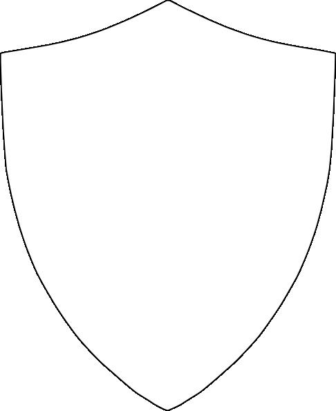 Edged Shield Shape Edged Shield Clip Art ...