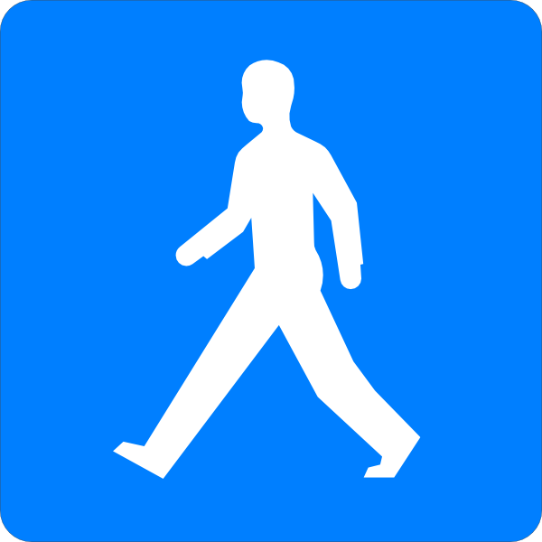 Walking Man Clip Art at Clker.com - vector clip art online ...