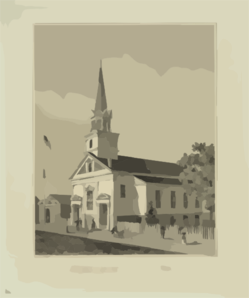 Central Baptist Church, Newport, R.i. Clip Art