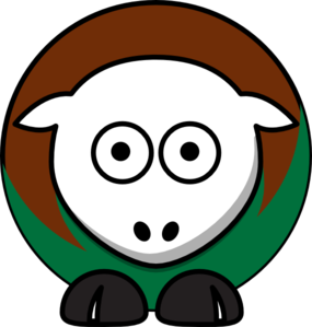 Sheep - Usc Upstate Spartans - Team Colors - College Football Clip Art