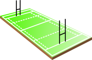 Rugby Field Clip Art