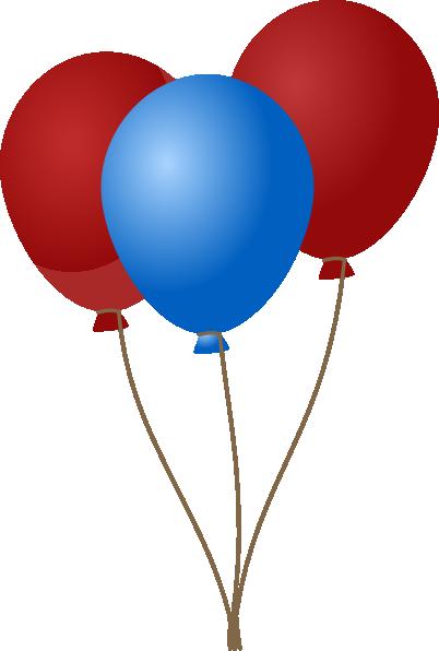 emmas blue balloons clip art at clker com vector clip art online rh clker com