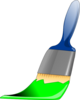 Paintbrush Green Clip Art