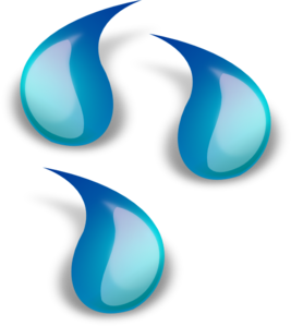 Water Droplets Clip Art