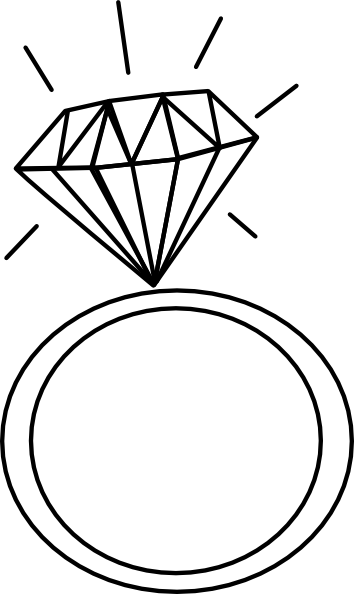 Diamond Ring Ashraf Clip Art At Clker Com Vector Clip