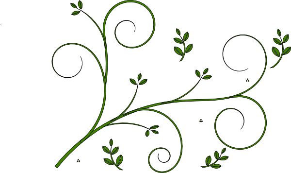 Vine Designs Art : Vine design clip art at clker vector online